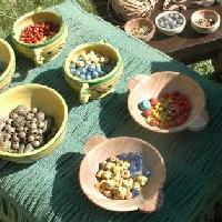 Boutique achat et vente de perles, pièces détachées pour bijoux gaulois, accessoires, décors historiques archéologiques