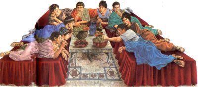 La cuisine romaine et la gastronomie de l 39 empire romain les recettes romaines et de la rome antique - Decoratie de la cuisine foto gratuit ...