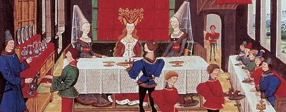 Comment organiser un repas banquet festin avec des - Histoire des arts la chambre des officiers ...