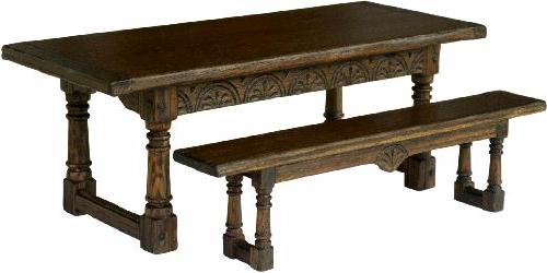 Banc avec dossier pour salle a manger 6 table valdiz - Table a manger avec banc ...
