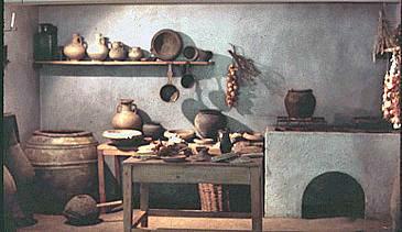 Description et reconstitution de l 39 organisation et rites - Cuisine romaine antique ...