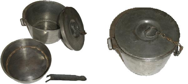 La Gamelle du Soldat pendant la WW1 . Gamelle-poilu7